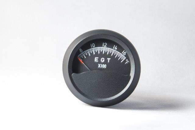Exhaust Gas Temperature and Sender--Falcon Gauge on